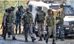 Terrorist on mission to kill shopkeeper in Baramulla shot