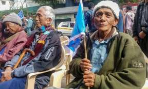 The Mizo National Front returned to power in Mizoram