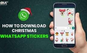 Christmas WhatsApp stickers
