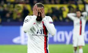 Tensions rise at PSG after latest Champions League setback