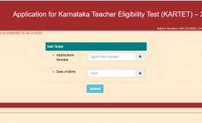 Karnataka TET Hall Ticket 2020 released