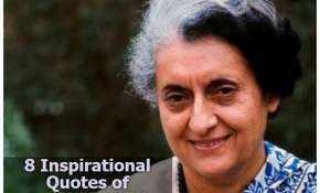 8 Inspirational quotes of Indira Gandhi, remembering PM on