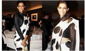 Masaba Gupta recalls story behind Sonam Kapoor's first Cannes appearance in polka dot dhoti saree