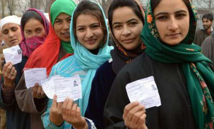 The first phase of polling will be followed by the second