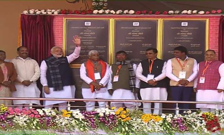 Jharkhand: PM Modi inaugurates Mandal dam, lays foundation
