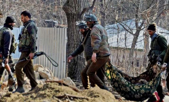 Nine people comprising five militants, two civilians and