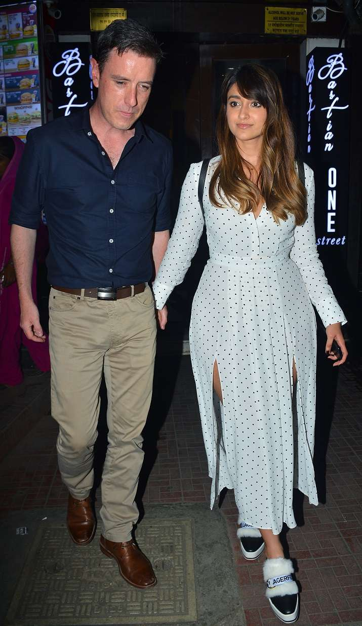 Andrew Kneebone photos: ileana d'cruz spotted after dinner date with