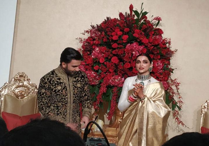 Deepika Padukone-Ranveer Singh look regal at their ...