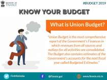 Union Budget is the most comprehensive report of the