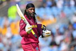Afghanistan vs West Indies: Chris Gayle lasts 18 balls in final World Cup appearance