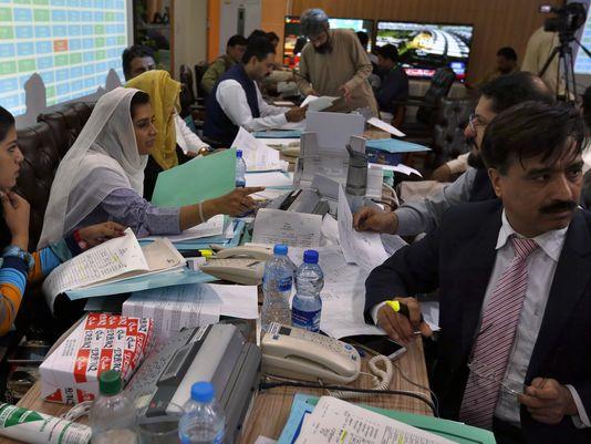 Pakistan Polling