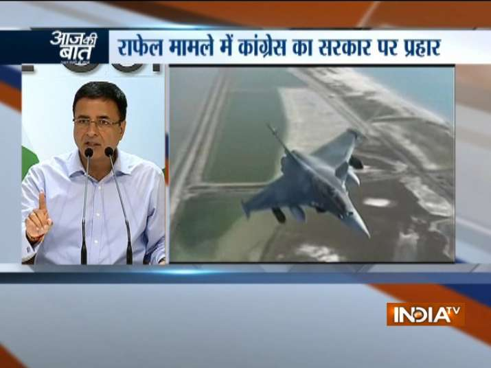 Congress intensifies attack on govt over Rafale deal
