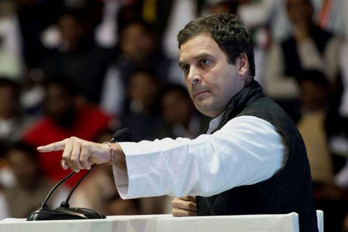 Rahul Gandhi accuses PM of using hate, fear and anger to build his narrative