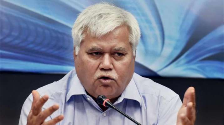 TRAI chief RS Sharma- File photo