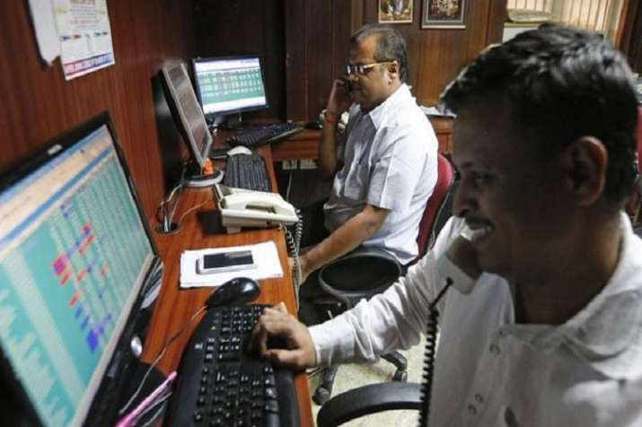 The Sensex, after opening on a strong footing, continued