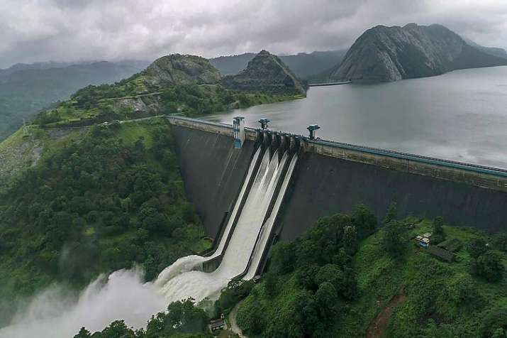 All five gates of Idukki Dam have been opened for the first