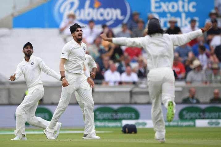 Ishant Sharma five wickets