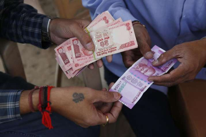 rupee value against dollar