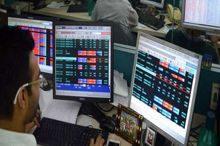 The NSE Nifty also hit a record intra-day high of