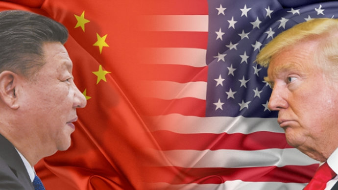 The world's two biggest economies, China and the US are