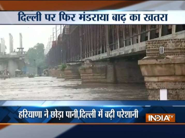 Delhi staring at imminent floods? Yamuna river crosses