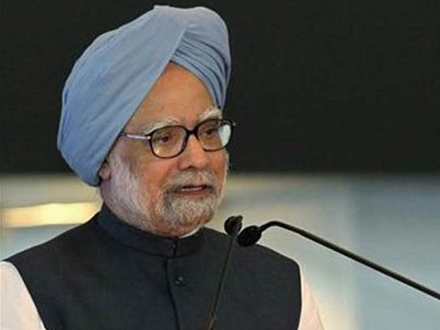 Manmohan Singh- File pic