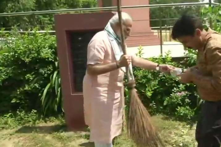 PM Modi Swachhata Hi Seva movement