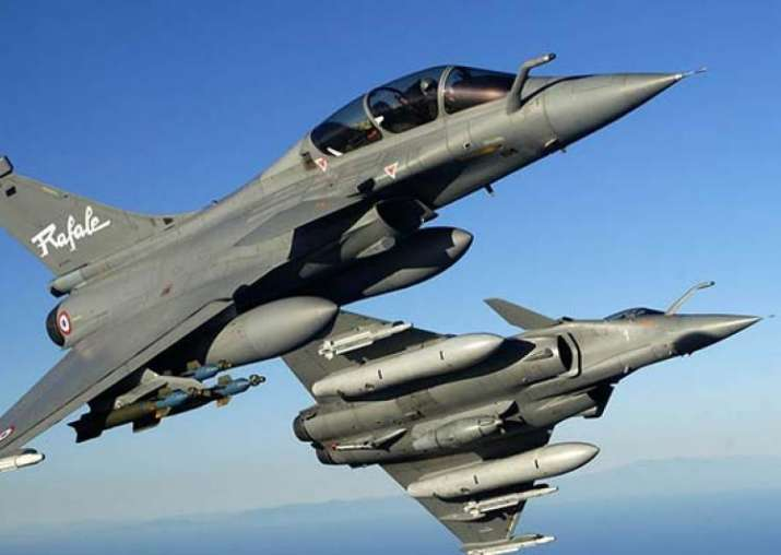 Rafale fighter aircraft- File pic