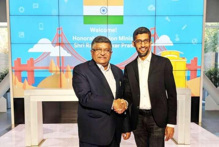 Law and IT Minister Ravi Shankar Prasad recently visited