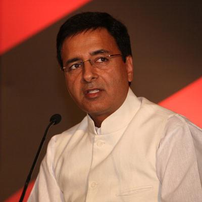 Congress spokesperson Randeep Singh Surjewala