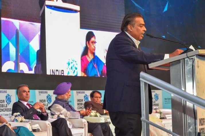 Reliance Industries Ltd. Chairman Mukesh Ambani speaks
