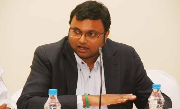 Karti Chidambaram- File photo