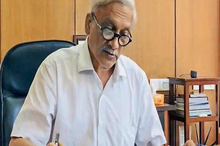 Goa Chief Minister Manohar Parrikar.