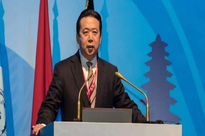 Meng Hongwei, also a Chinese Vice Public Security Minister,