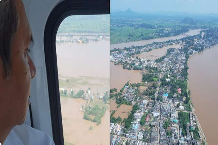 Patnaik made the announcement after an aerial survey of the