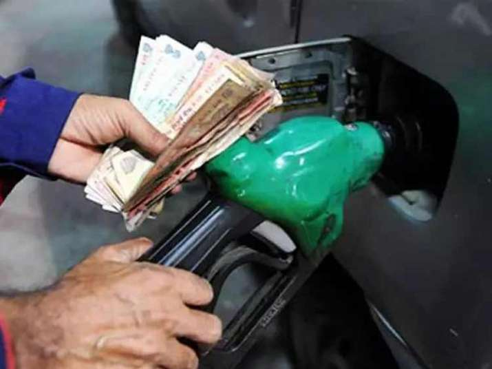 The revised rates of petrol and diesel in Delhi stood at Rs