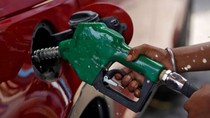 The petrol prices were slashed by 40 paise in Delhi, taking