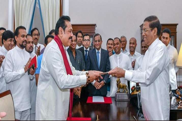 Rajapaksa assumed the duties in the prime minister's