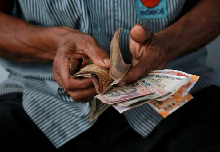 Rupee falls 24 paise, hits all-time low of 74.45 against US