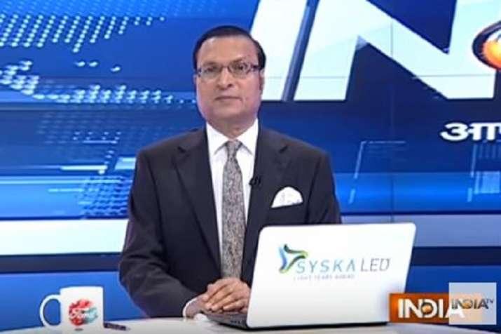 Aaj Ki Baat September 27 episode with IndiaTV Chairman and