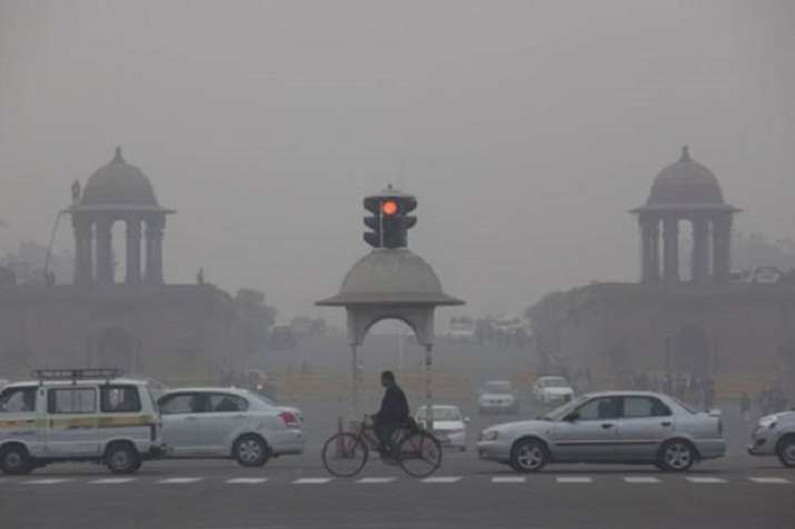 Delhi's overall Air Quality Index (AQI) on Saturday was