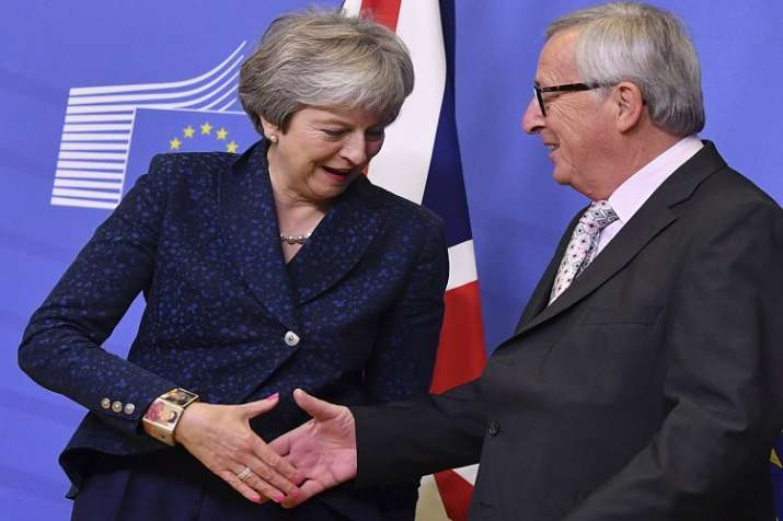 Prime Minister Theresa May has hailed the deal as the start