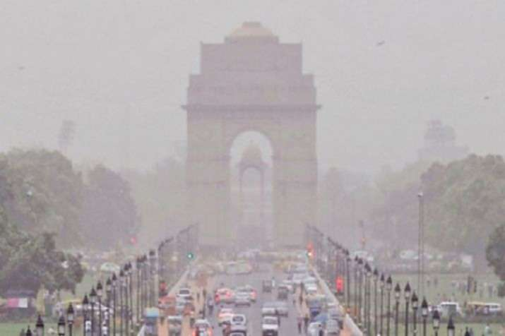 The overall air quality index (AQI) was recorded at 421