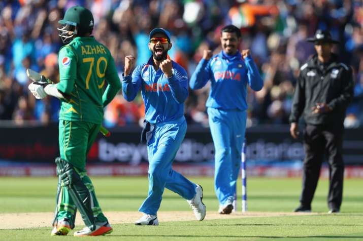 India's winning percentage more than Pakistan in T20I cricket