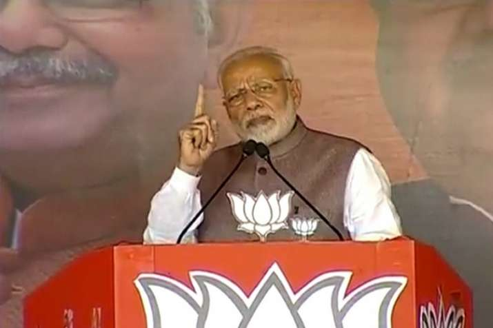 PM Modi also reiterated his challenge to select someone as