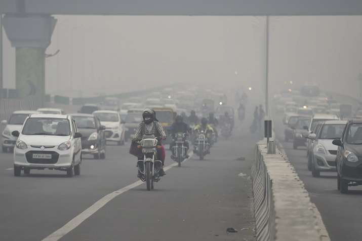The decline in the air quality was mainly caused by