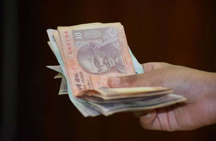 The rupee opened lower at 70.88 per dollar against and