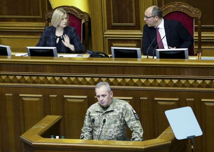 Chairman of the Ukrainian General Staff Viktor Muzhenko,