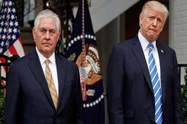 """""""He (Tillerson) was dumb as a rock and I couldn't get"""