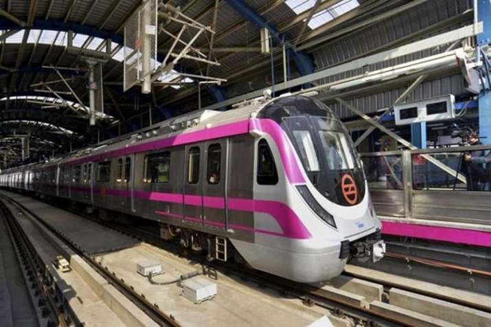 The new segment is part of the 59-km-long Pink Line, which